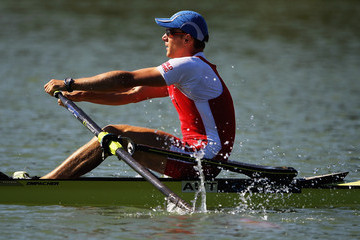Florian Berg FISA Rowing World Senior & Junior Championships - Day Two