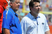 Will Muschamp and Charlie Weis Photos Photo