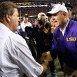 Les Miles Jim McElwain Photos - 1 of 2