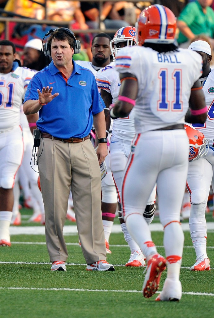 will muschamp and neiron ball photos photos zimbio