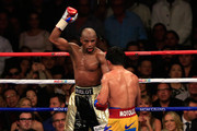 Floyd Mayweather Jr. and Manny Pacquiao Photos Photo