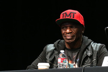 Floyd Mayweather Sr Floyd Mayweather v Manny Pacquiao Press Conference
