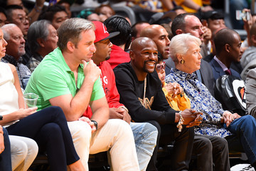 Floyd Mayweather New Orleans Pelicans v Los Angeles Lakers