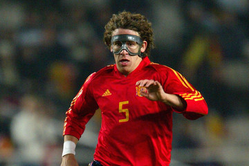 Carles Puyol In Focus: Protective Face Masks In Football