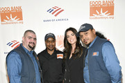 (L-R) Waldo Marrero, Maurice Young, Katie Lee, and Johnny Rivera attend the Food Bank For New York City Can-Do Awards Dinner at Cipriani Wall Street on April 16, 2019 in New York City.