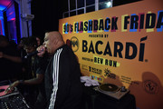 """Rev Run performs during the """"Food Network & Cooking Channel New York City Wine & Food Festival Presented By Capital One - 90's Flashback Friday Presented By BACARDI Hosted By Rev Run"""" at Industria on October 12, 2018 in New York City."""