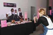 Chef Christina Tosi photographs other chefs during the Food Network & Cooking Channel New York City Wine & Food Festival Presented By Capital One - All About Cake Presented By PureWow Hosted By Christina Tosi of Milk Bar at Union West Events on October 13, 2018 in New York City.