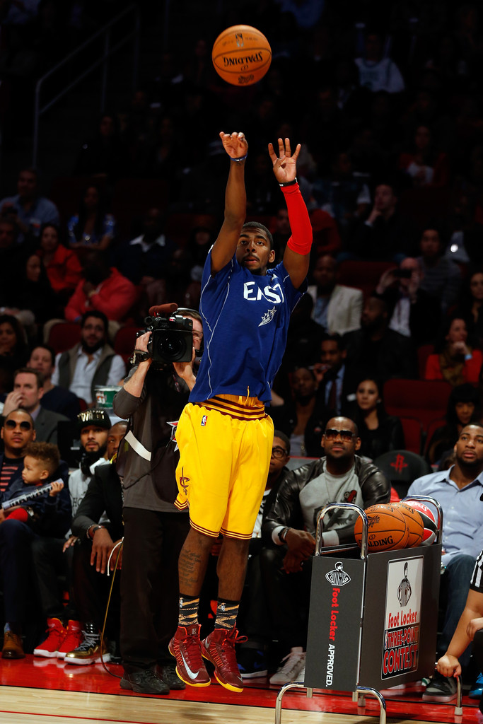kyrie irving photos foot locker threepoint contest 2013