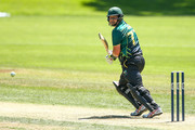 Jesse Ryder of Central Districts bats during the Ford Trophy match between the Central Stags and the Northern Districts at Pukekura Park on February 4, 2017 in New Plymouth, New Zealand.