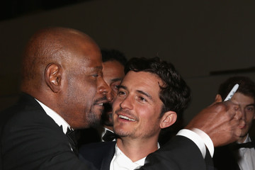 Forest Whitaker Orlando Bloom Palme D'Or Winners Dinner Arrivals in Cannes