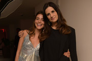 Calu Rivero and Livia Firth  attend a screening of the 'Forever Tasmania' documentary at The New York Edition on May 4, 2018 in New York City.