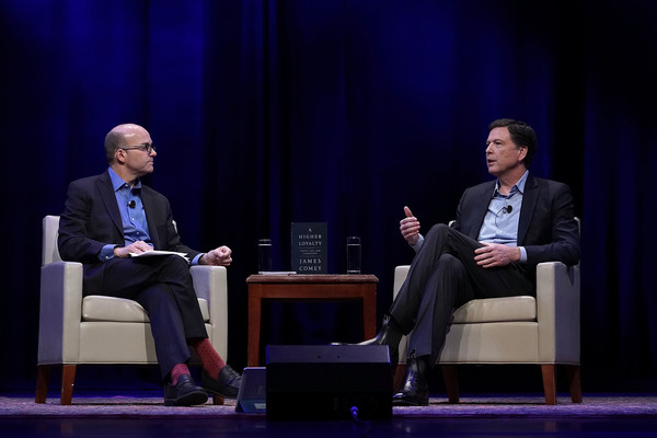 Former Fbi Director James Comey Discusses New Book At George
