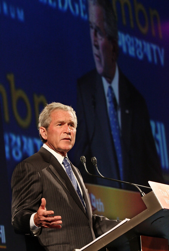 george w bush speech analysis An analysis of presidential responses in times of president george w bush with the after 1932 the presidential candidate's speech during the.