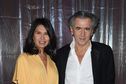 Honoree Goga Ashkenazi and Event Chair Bernard Henri-Levy attend the Foundation Fighting Blindness World Gala at Cipriani 42nd Street on April 12, 2016 in New York City.
