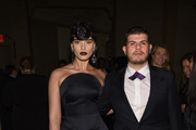 Crystal Renn (L) and Eli Mizrahi attend the Foundation Fighting Blindness World Gala at Cipriani 42nd Street on April 12, 2016 in New York City.
