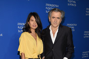 Honoree Goga Ashkenazi (L) and Bernard Henri Levy attend the Foundation Fighting Blindness World Gala at Cipriani 42nd Street on April 12, 2016 in New York City.