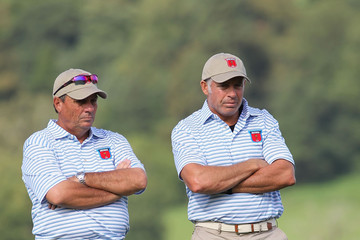 Steve Williams Jimmy Johnson Foursome Matches-2010 Ryder Cup