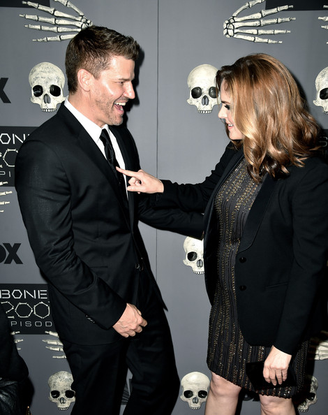 Are bones and booth dating in real life