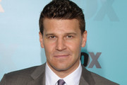 David Boreanaz  attends attends the Fox 2012 Programming Presentation Post-Show Party at Wollman Rink - Central Park on May 14, 2012 in New York City.