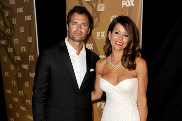 Brooke Burke David Charvet Fox/20th Century Fox Television/FX 2010 Emmy Nominee Party - Arrivals
