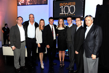 "Tony Vinciquerra Fox Celebrates ""Bones"" 100th Episode"