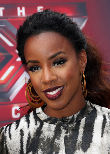 Recording artist Kelly Rowland attends Fox's 'The X Factor' Judges at the Galen Center on July 11, 2013 in Los Angeles, California.