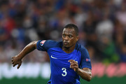 Patrice Evra of France in action during the UEFA Euro 2016 Group A match between France and Albania at Stade Velodrome on June 15, 2016 in Marseille, France.