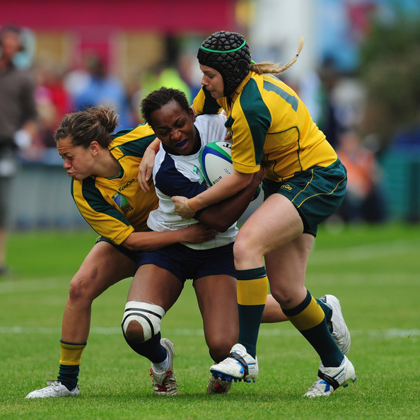 South West Rugby Cups: Sandrine Agricole In France V Australia