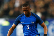 Patrice Evra of France in action during the International Friendly match between France and Russia held at Stade de France on March 29, 2016 in Paris, France.