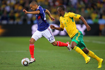 Siboniso Gaxa France v South Africa: Group A - 2010 FIFA World Cup