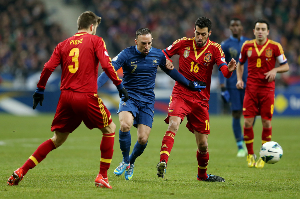 France vs spain in the orgyf70 3