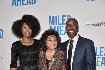 Frances Davis Premiere of Sony Pictures Classics' 'Miles Ahead' - Arrivals