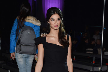 Francesca Chillemi Front Row at Dsquared2