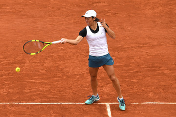 Francesca Schiavone 2016 French Open - Day Three