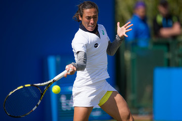 Francesca Schiavone WTA Aegon Open Nottingham - Day Two
