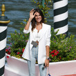 Francesca Sofia Novello Celebrity Excelsior Arrivals During The 77th Venice Film Festival - Day 3