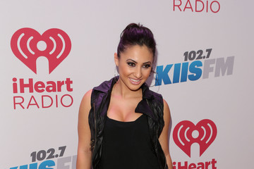 Francia Raisa KIIS FM's Jingle Ball 2013 Presented By T-Mobile In Partnership With Samsung - Backstage