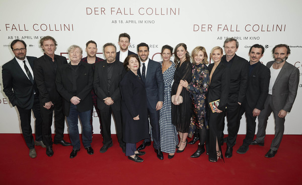 """Der Fall Collini"" Premiere In Berlin [premiere,event,red carpet,carpet,team,white-collar worker,stefan gaertner,manfred zapatka,christoph mueller,der fall collini,germany,l-r,berlin,zoo palast,premiere,premiere]"