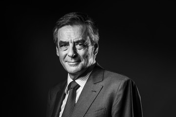 Francois Fillon Francois Fillon Studio Portraits Ahead of Sunday's Right Wing Primary Elections