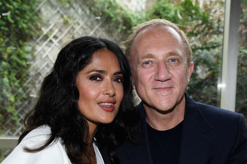 Francois-Henri Pinault Giambatista Valli : Front Row - Paris Fashion Week Womenswear Spring/Summer 2018