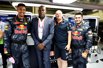 Frank Bruno F1 Grand Prix of Great Britain
