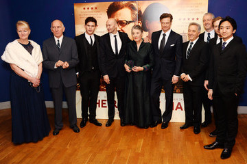 Frank Cottrell Boyce 'The Railway Man' Premieres in London