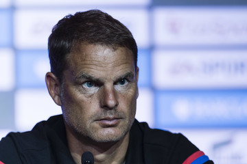 Frank De Boer Premier League Asia Trophy Press Conference