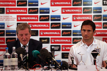Frank Lampard Roy Hodgson England Press Conference