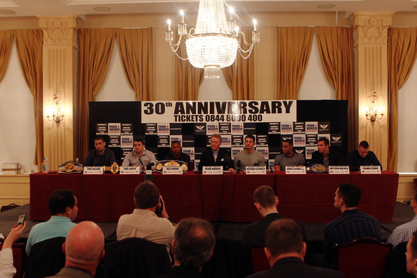 Frank Warren Press Conference