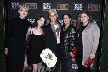 """Frankie Grande Hudson Scheel Opening """"Night Of Rock Of Ages"""" Hollywood At The Bourbon Room"""