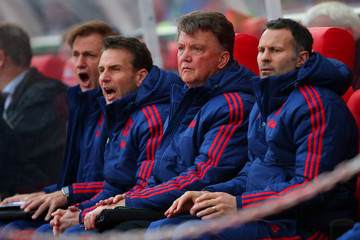 Frans Hoek Stoke City v Manchester United - Premier League
