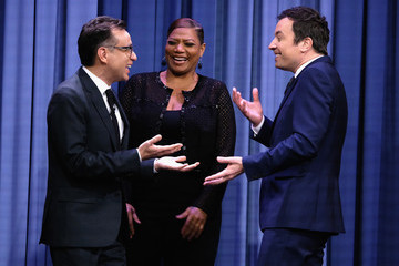 Fred Armisen Queen Latifah Visits 'The Tonight Show Starring Jimmy Fallon'