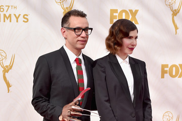 Fred Armisen 67th Annual Emmy Awards - Red Carpet