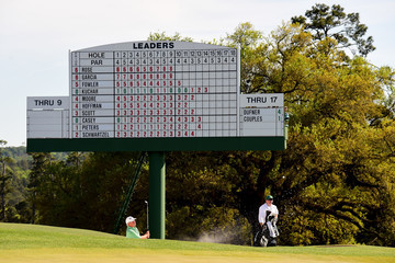 Fred Couples The Masters - Final Round
